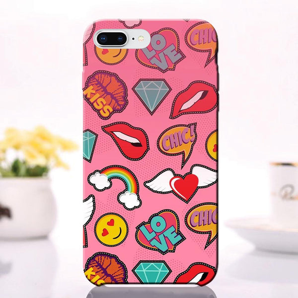 Love Kiss Chick - iPhone 8 Plus Case