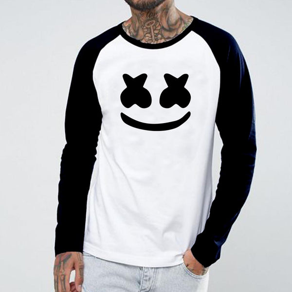 Marshmallow - Full Sleeve Cotton T-Shirt