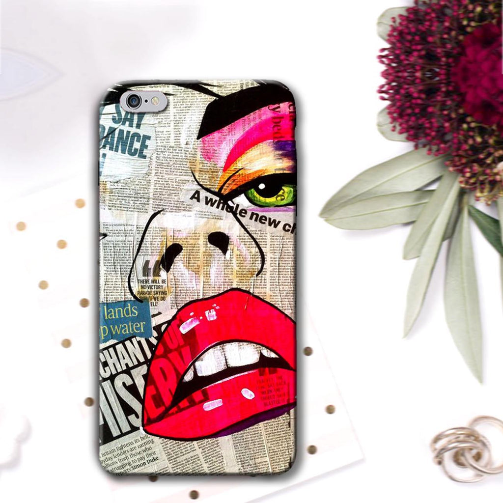 Newsgirl - iPhone 6 Case