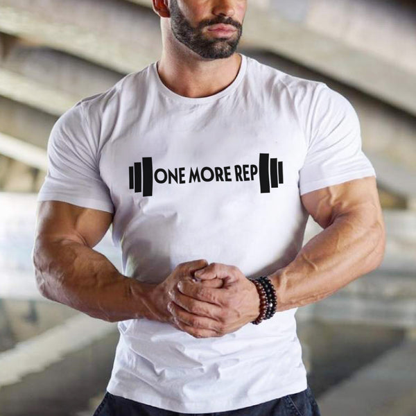 One More Rep - Half Sleeve Cotton T-Shirt