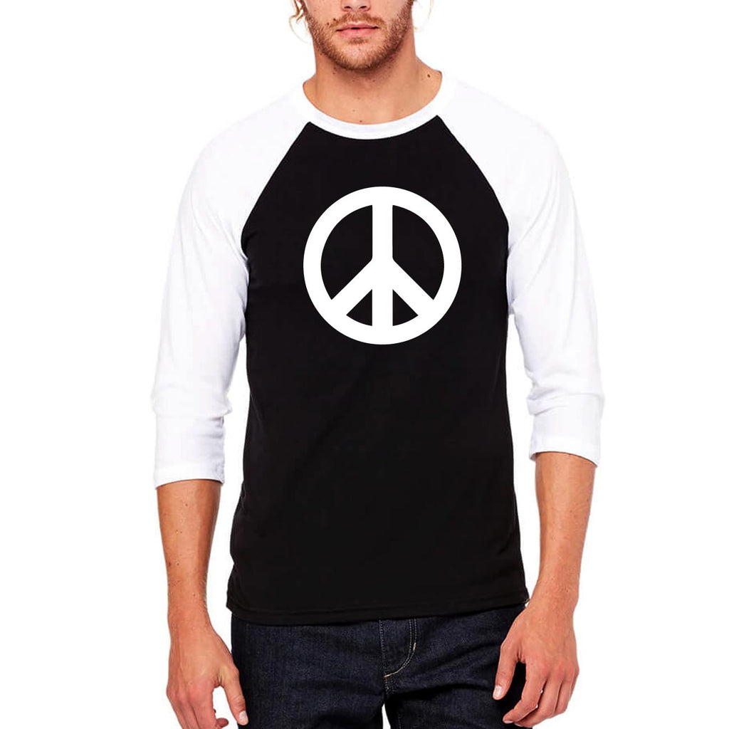 Peace - Full Sleeve Cotton T-Shirt