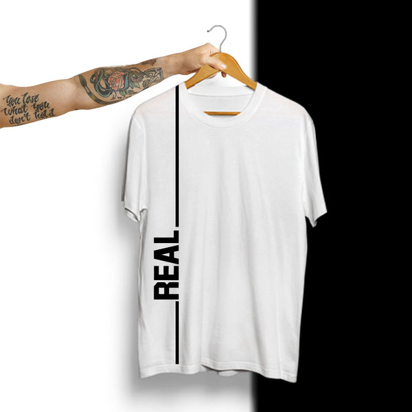 Real - Half Sleeve Cotton T-Shirt