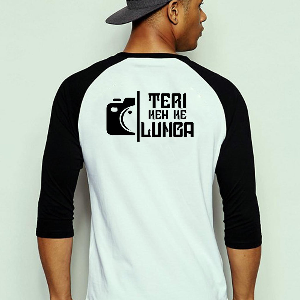 Teri Keh Ke Lunga - Full Sleeve Cotton T-Shirt