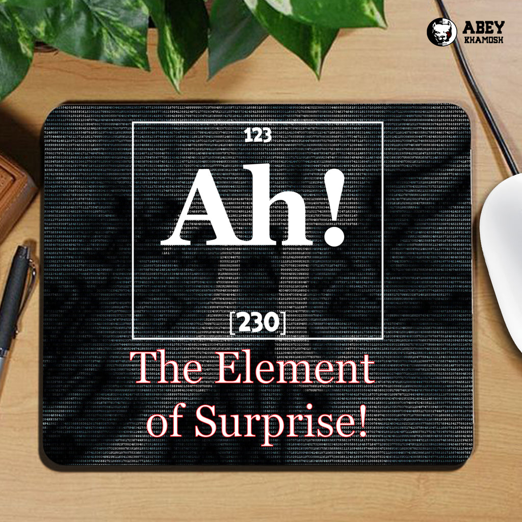 The Element of Services Mouse Pad