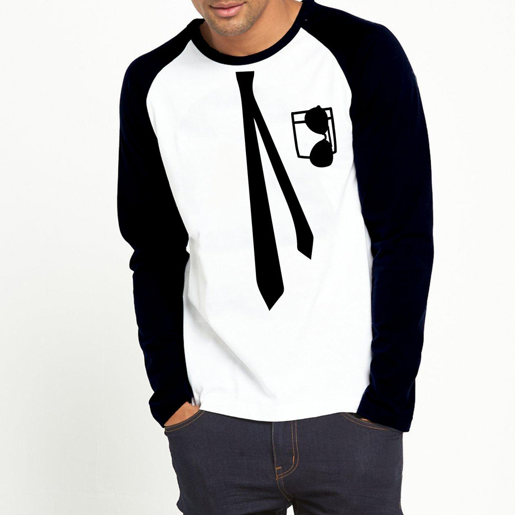 Tie Gentlemen - Full Sleeve Cotton T-Shirt