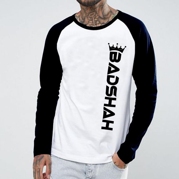 Badshah - Full Sleeve Cotton T-Shirt
