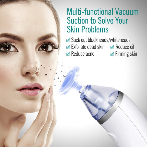Electric Vacuum Pore Cleanser & Black Head Remover