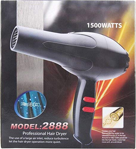 Professional Hair Dryer for Men & Women - 1500 Watts