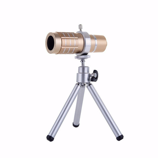 Telescopic Mobile Phone 12X Zoom Lens (Colored)
