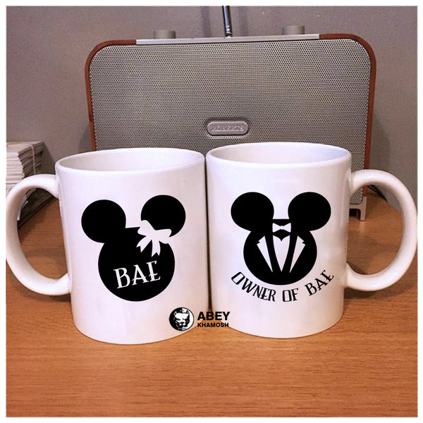 Bae Owner Of Mug Couple Mug