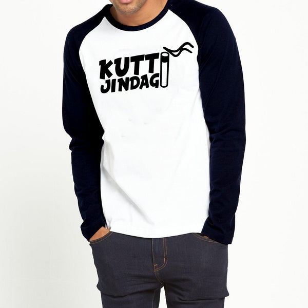 Kutti Jindagi - Full Sleeve Cotton T-Shirt