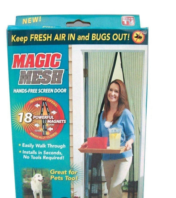 Magic Mesh Hands Free Screen Net Door