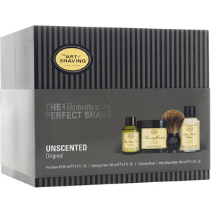 Art of Shaving Unscented Full Size Kit with Pure Shaving Brush