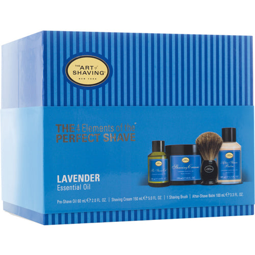 Art of Shaving Lavender Full Size Kit with Pure Shaving Brush