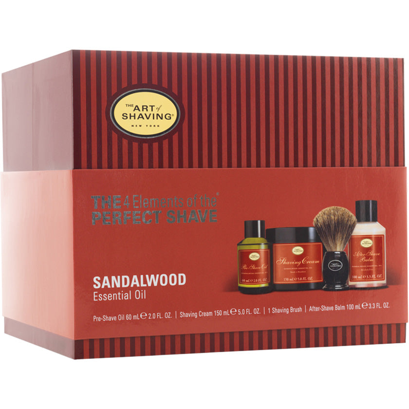 Art of Shaving Sandalwood Full Size Kit with Pure Shaving Brush