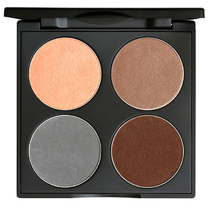 Gorgeous Cosmetics All-in-One Brown Eyes Eye Shadow Palette Toffee Shine Highligher Beautiful Natural Mauve Submarine Matte Fudge Matte