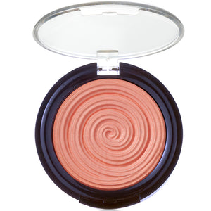 Laura Geller Baked Gelato Vivid Swirl Blush Cantaloupe Guava Rosewater Plumberry