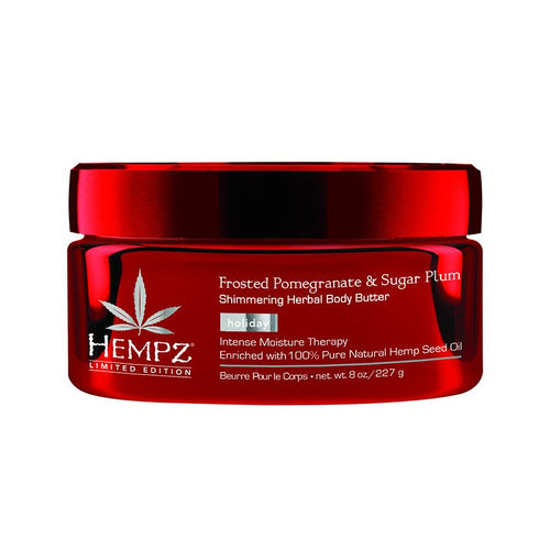 Hempz Triple Moisture Frosted Pomegranate & Sugar Plum Shimmering Herbal Body Butter