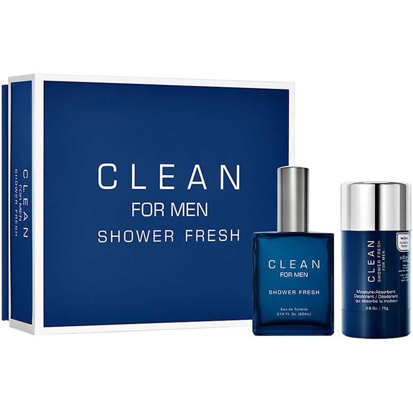 Clean Perfume Clean For Men Shower Fresh Set