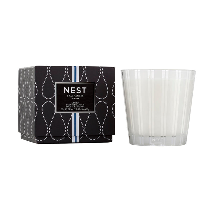 Nest Fragrances Linen 3 Wick Candle