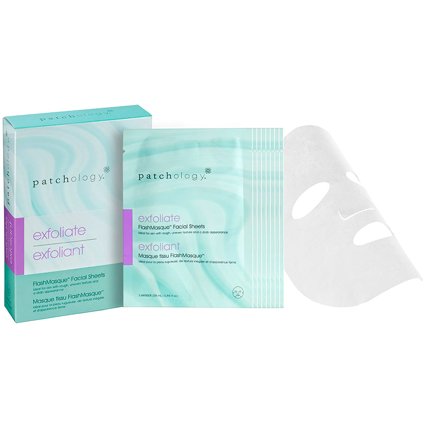 Patchology FlashMasque Exfoliate - 4 Pack