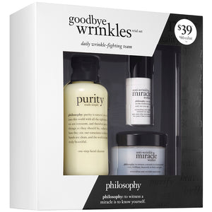 Philosophy Goodbye Wrinkles Trial Set