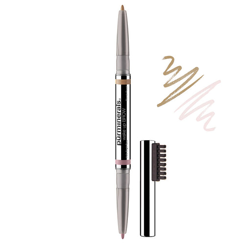 PUR Wakeup Brows Dual Ended Brow Pencil Latte