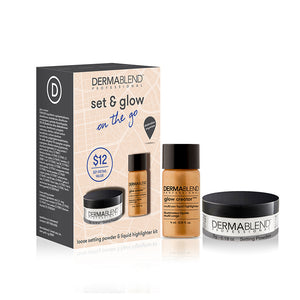 Dermablend Set & Glow On The Go Kit