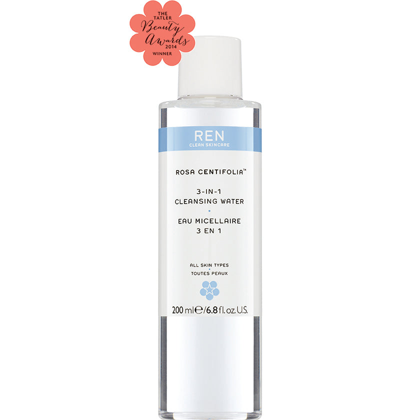 Rosa Centifolia 3-In-1 Cleansing Water