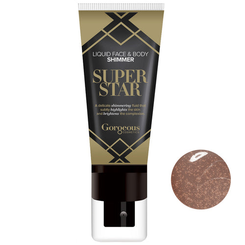 Gorgeous Cosmetic Superstar Liquid Shimmer Bronze