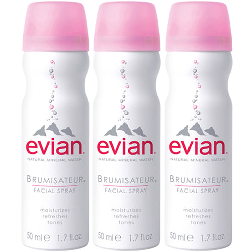 EVIAN TRAVEL TRIO - 3-1.7 OZ
