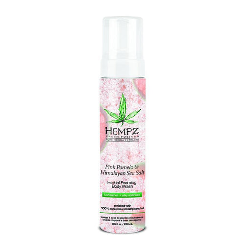 Hempz Pink Pomelo & Himalayan Sea Salt Herbal Foaming Body Wash