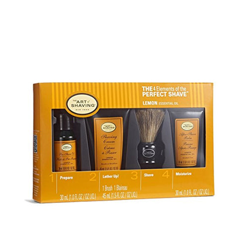 Art of Shaving Lemon Mid Size Kit
