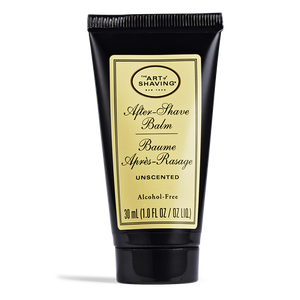 Art of Shaving After Shave Balm Unscented Shea Butter Grape Seed Extract Free of Dyes Dermatologist Tested
