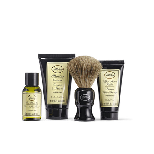 Art of Shaving Unscented Mid Size Kit