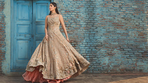 Bridal dress by top fashion designer in lahore