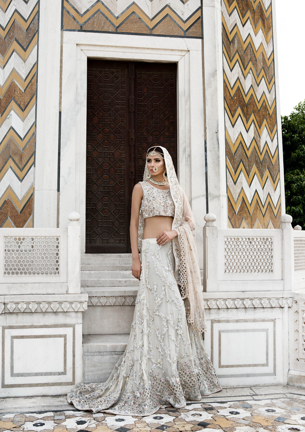 offwhite bridal-pakistani wedding-ayesha and usman
