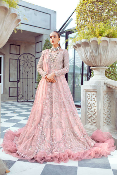 pink bridal-ayesha and usman