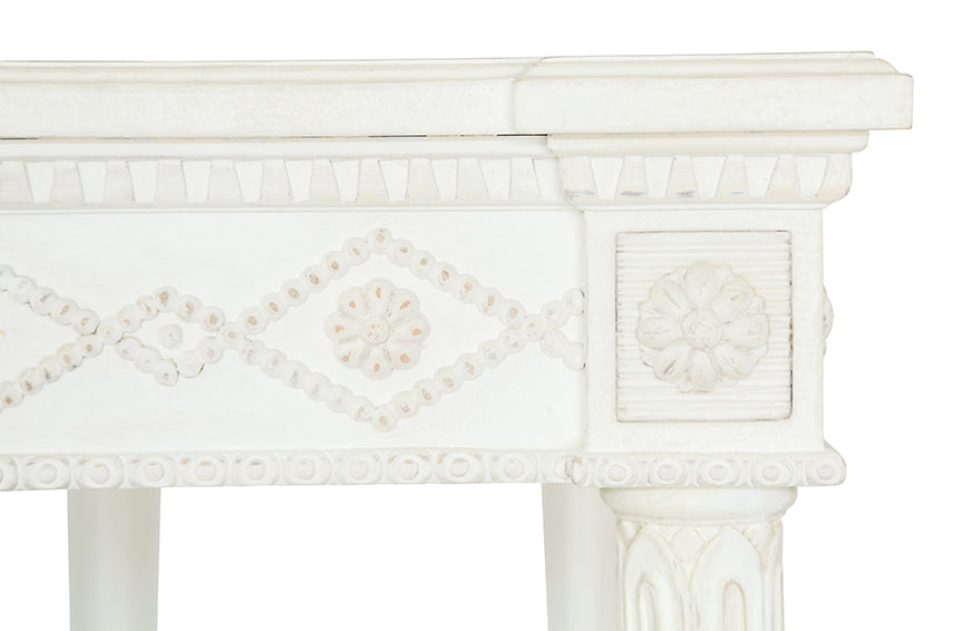 Aria Console - Antique White | AVE HOME