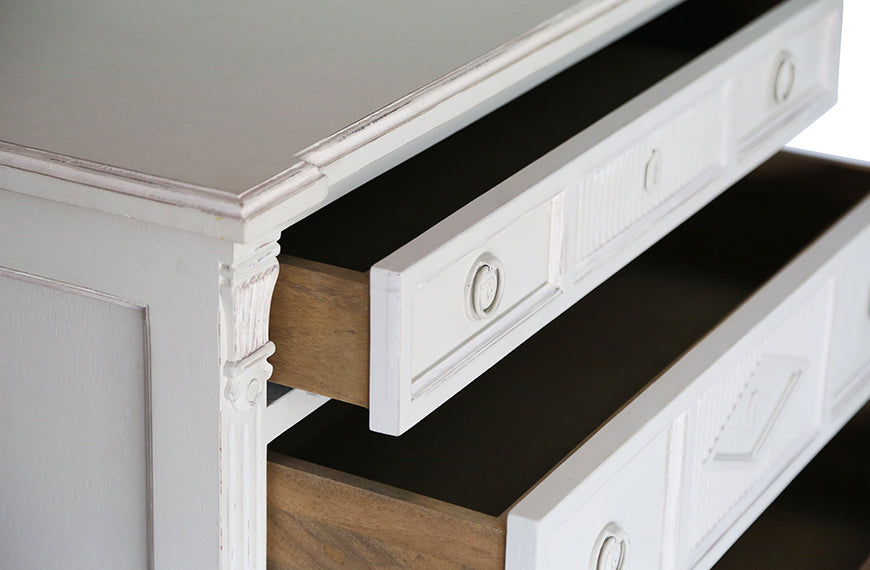 Aria Three Drawer Dresser | AVE HOME