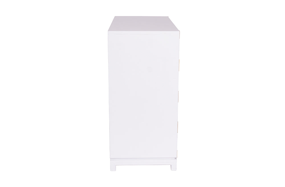 Large Carlyle Campaign Dresser - White