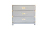 Small Carlyle Campaign Dresser - Grey (Early December Arrival)