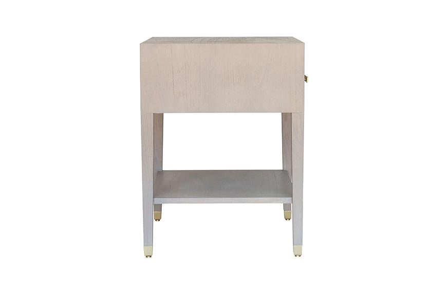 Carlyle End Table - Grey | AVE HOME