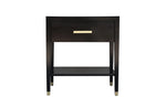 Carlyle End Table - Ebony