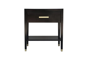 Carlyle End Table - Ebony | AVE HOME