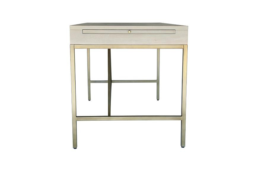 Carlyle Desk - Grey | AVE HOME
