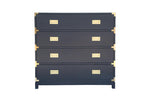 Large Carlyle Campaign Dresser - Navy
