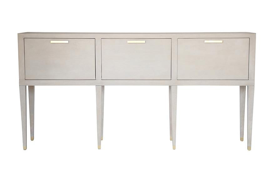 Carlyle Console - Grey | AVE HOME