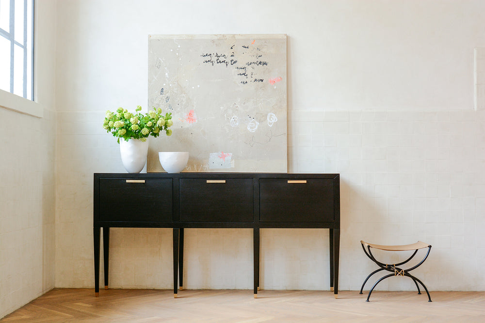 Carlyle Console - Ebony | AVE HOME