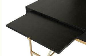 Carlyle Desk - Ebony | AVE HOME